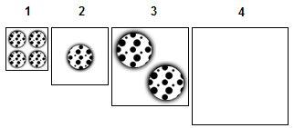 4x#1; 1x#2; 2x#3; 0x#4