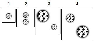 1x#1; 2x#1; 1x#1, 1x#3; 1x#2, 1x#3